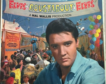 Elvis Presley/Roustabout Soundtrack/1964  'red spot' RCA Victor label