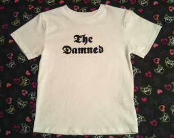 The Damned 70's 80's Punk Rock kids t-shirt baby Onesie