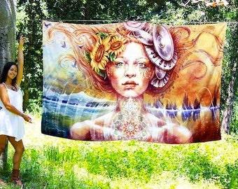 Harmonic Transformation Tapestry by Autumn Skye ART