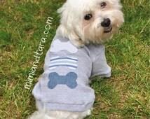 Dog Sweater Pattern size XS, Sewing Pattern, Dog Clothes Pattern