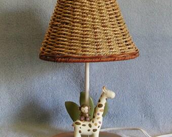 Child's Lamp - Animal Theme