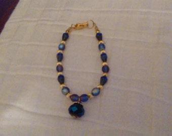 Evening Blue Bracelet