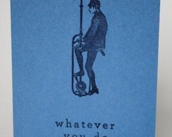 No Matter What Card