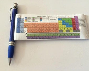Vintage College Science Gift Chemistry Gift Periodic Table Pen Gift (Packs of 2)