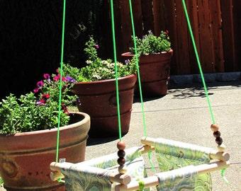 Baby Fabric Swing. Indoor/Outdoor Baby/Todler Swing.