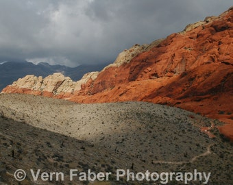 Red Rock Canyon – Nevada – Nature Landscape Photograph