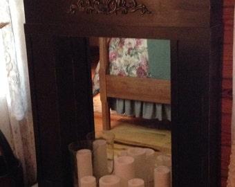 Romantic Faux Fireplace