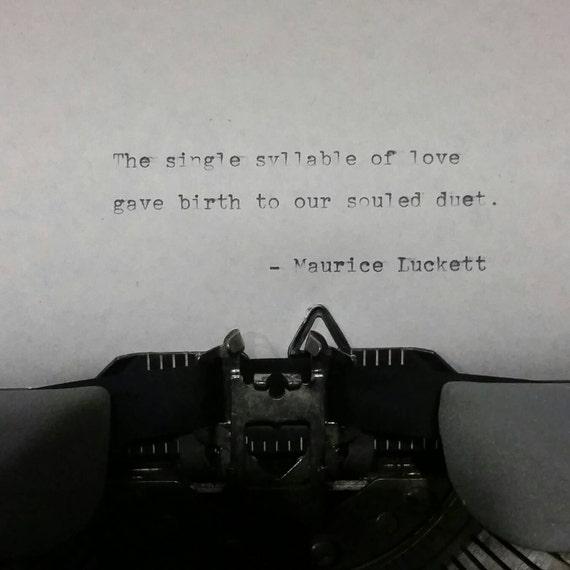 Poem: Souled Duet
