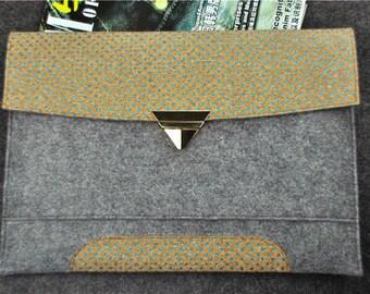 "15.6"" Laptop case, Laptop bag 15.6, 15.6"" laptop sleeve, 17"" Laptop bag, HP Envy 17"" sleeve, holiday gift, women Wallet,A1A6"