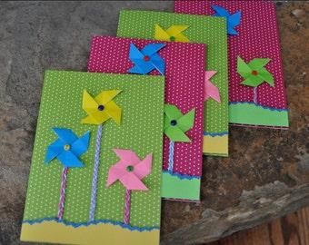 Pinwheel Origami Card (Blank Inside)