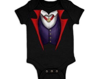 Vampire Costume baby grow