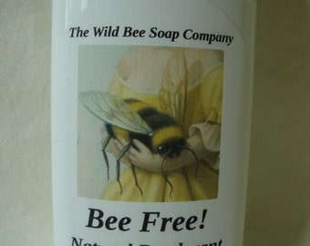 Bee Free! Natural Deodorant, Deodorant, Natural Deodorant, Handcrafted Deodorant