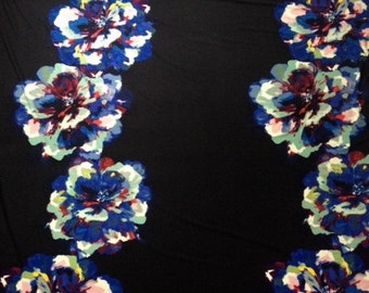 Multi Colored flower Fabric