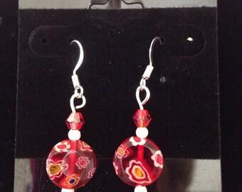 Fun red earings