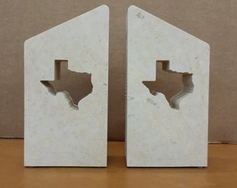 Texas Limestone Bookend - FREE SHIPPING