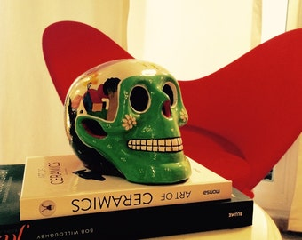 Fluor green Skull