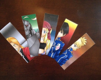 Fullmetal Alchemist anime bookmarks