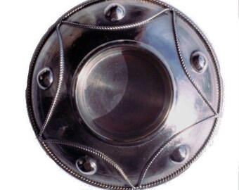 Round Moroccan candle holder - SMALL