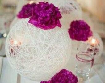 Wedding. Table. Center piece.