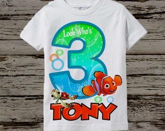 Finding Nemo Birthday Shirt - Nemo Birthday Shirt