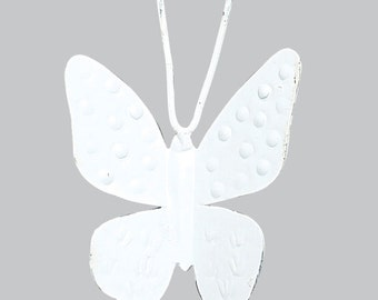 White Butterfly Magnets SET OF THREE MG2201