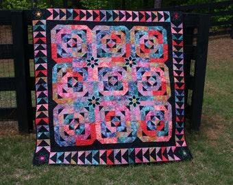 Pandelirious - Quilt - Throw - Blanket