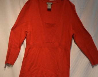 Red Ann Taylor Sweater