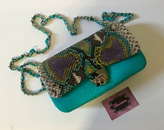 "EXCLUSIVE!!! Luxury Genuine Python Leather Handbag ""KOKO"""