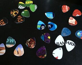 Recycled Guitar Picks