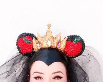 Wicked / Evil Queen Head piece