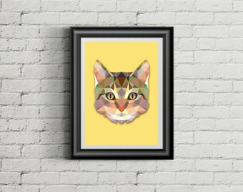 • The cat poster