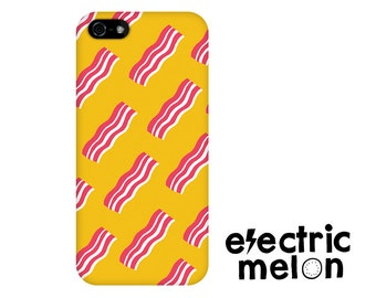 BACON phone case, bacon iphone case, bacon iphone 6 case, bacon case, bacon iphone 5 case, Bacon strips, bacon, cool iphone case