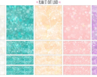 Bokeh Sticker Kit - Fairy (planner Stickers)