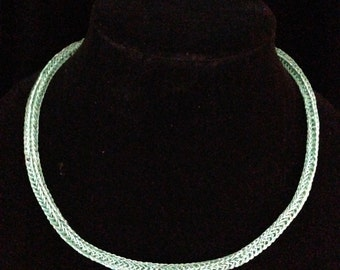 Sea Foam Viking Knit Chain