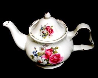 Unique Large Flower Teapot