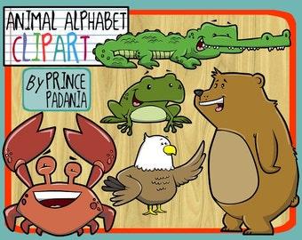 Animal Alphabet Clip Art / Phonics Clip Art