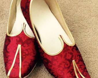 Traditional indian shoes, Mojadi, Rajvadi modaji, Four colours,