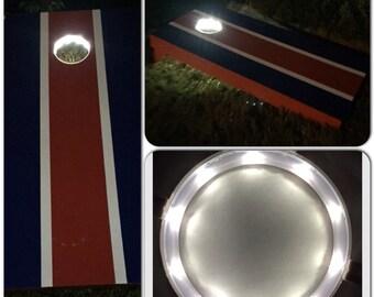 LED Cornhole Bean Bag Toss Lights (2 per set)