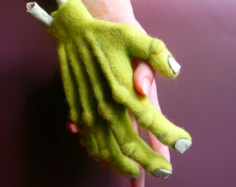 Hand Zombie black humor horror Interior toy