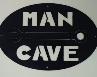ManCave Plaque/mancave/CNC/Plasma/Metal Art