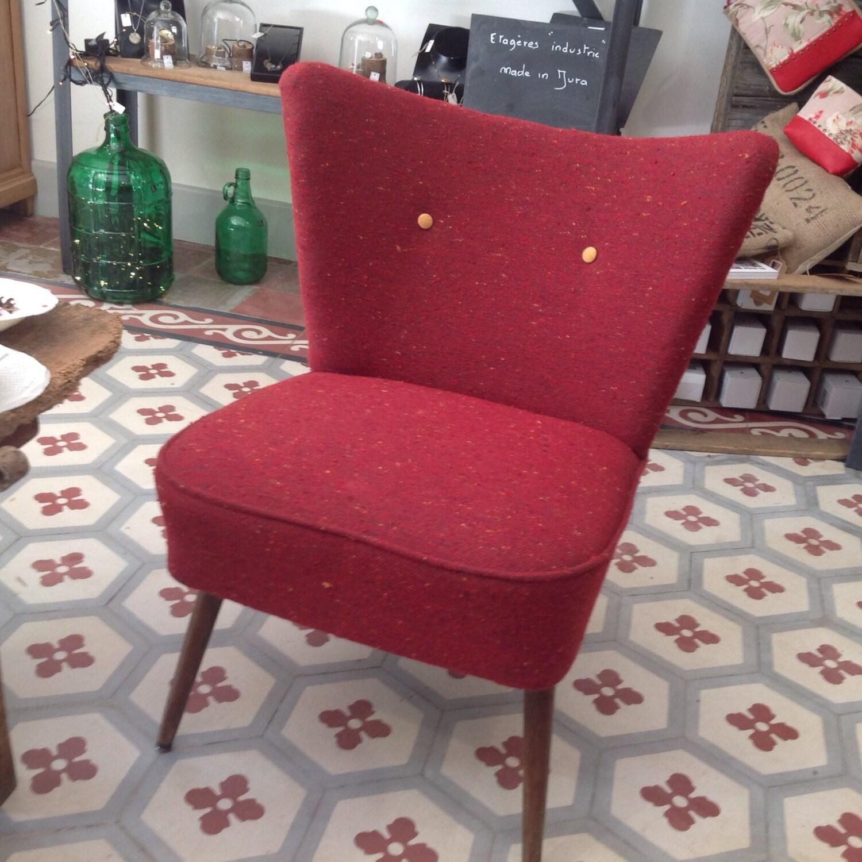 Canap et deux fauteuils vintage haute juice for Canape et deux fauteuils