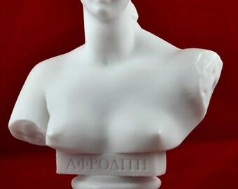 Aphrodite Venus Bust greek statue love beauty goddess NEW
