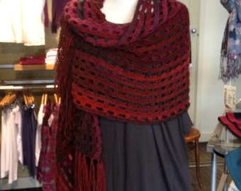 Into the red shawl