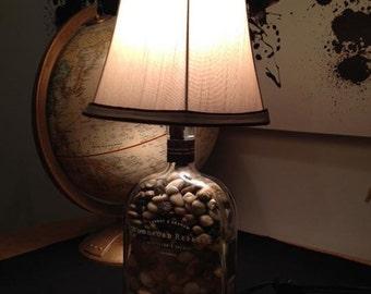 Woodford reserve bourbon lamp