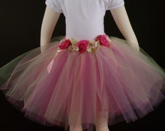 Tutu with Flowers