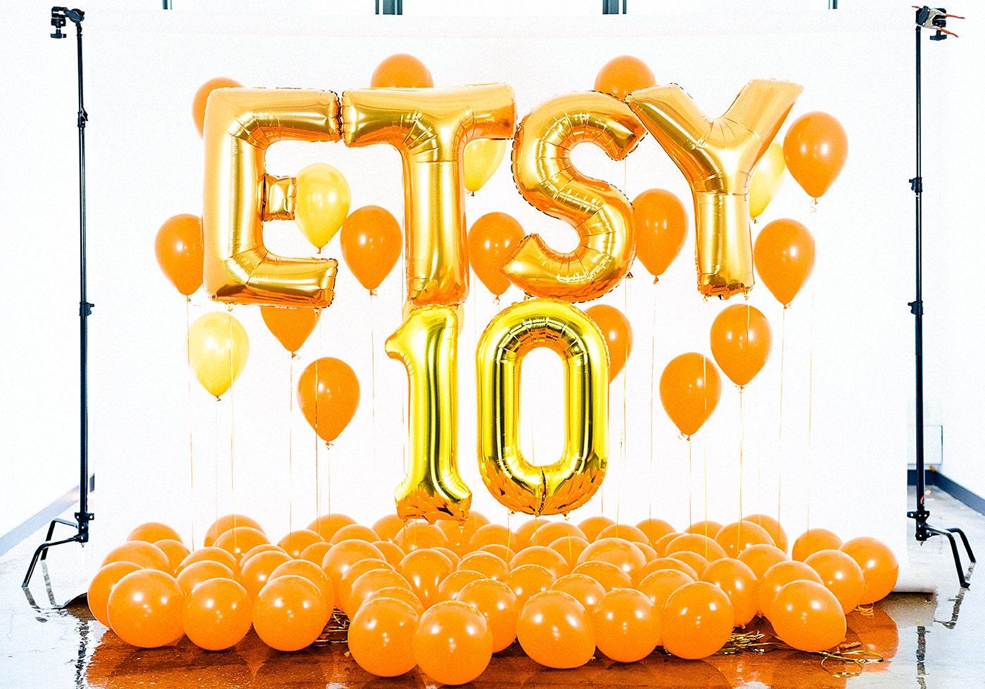 Etsy 10th anniversary