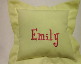 Pillow, Toddler, Infant, Travel, Decor baby Pllow, Personalized, Grandma's House, Monogram, Embroidery, Birthday Gift, Childs present