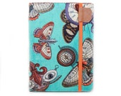 Kindle Voyage Cover - Steampunk Butterflies - fun case for Kindle eReaders - tech accessory gadget case - butterfly print