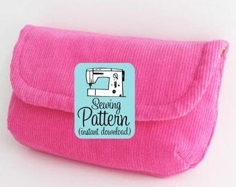 Little Pouch & Long Pouch PDF Sewing Pattern