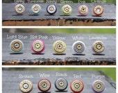 Colorful Bullet Earrings (varying calibers)